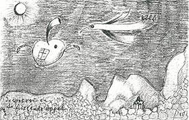 136 De sperwer en de vliegende appel, 1985