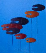 152-1 Bladvormen, gekleurd, 1979